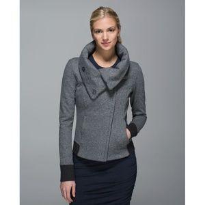 Lulu Karmacollected Jacket Speckled Black Coat 10